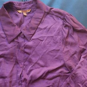 NWOT Modcloth Silky Button Up Blouse